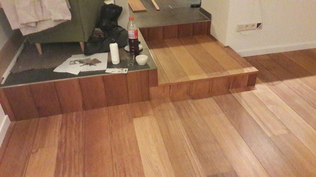 Pvc Vloeren Specialist : Merbau duoplank geolied houten vloer specialist in alle